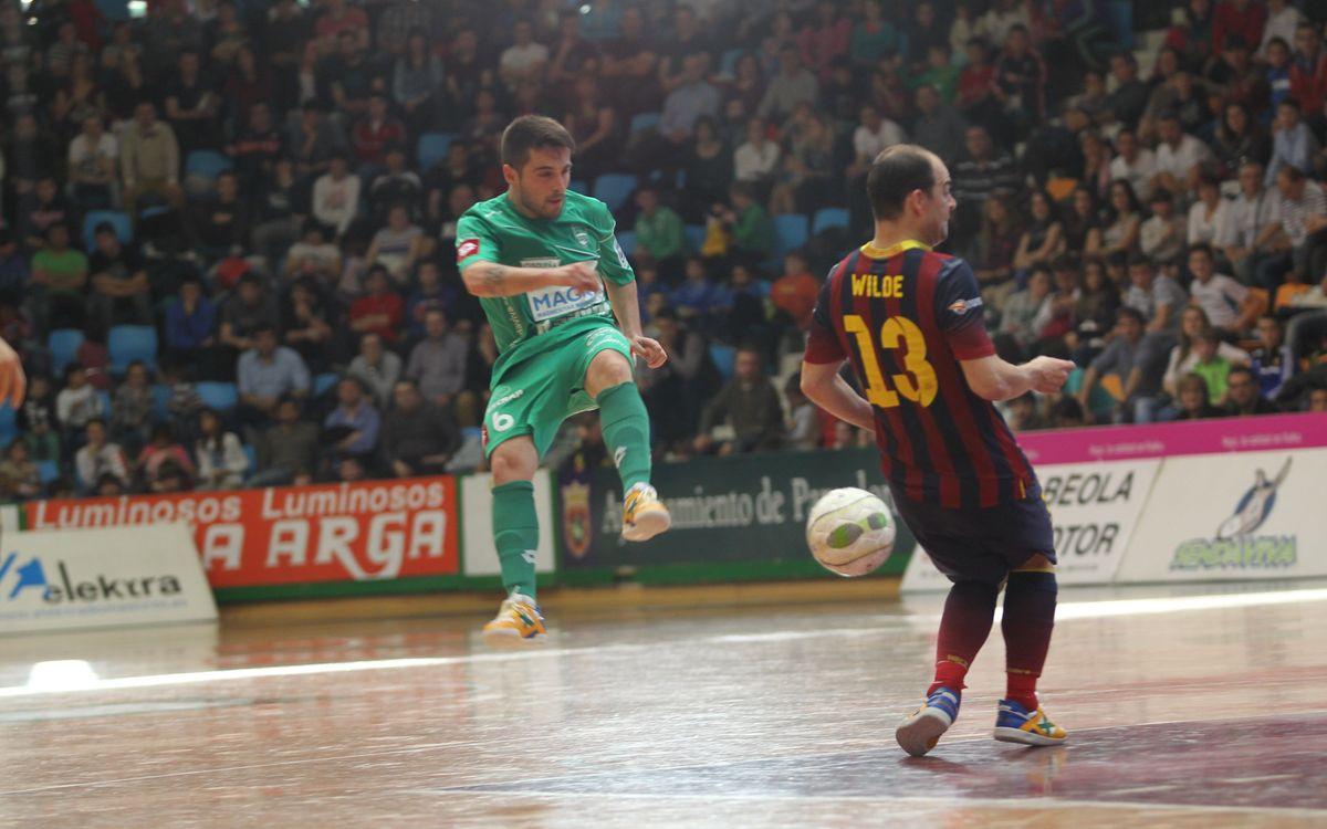 Magna Navarra – Barça Alusport: Victòria d'orgull (2-5)