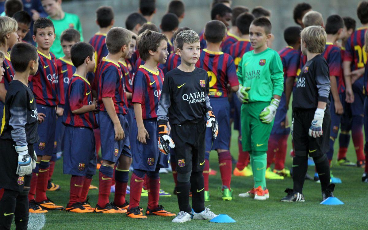 Presentació del futbol formatiu