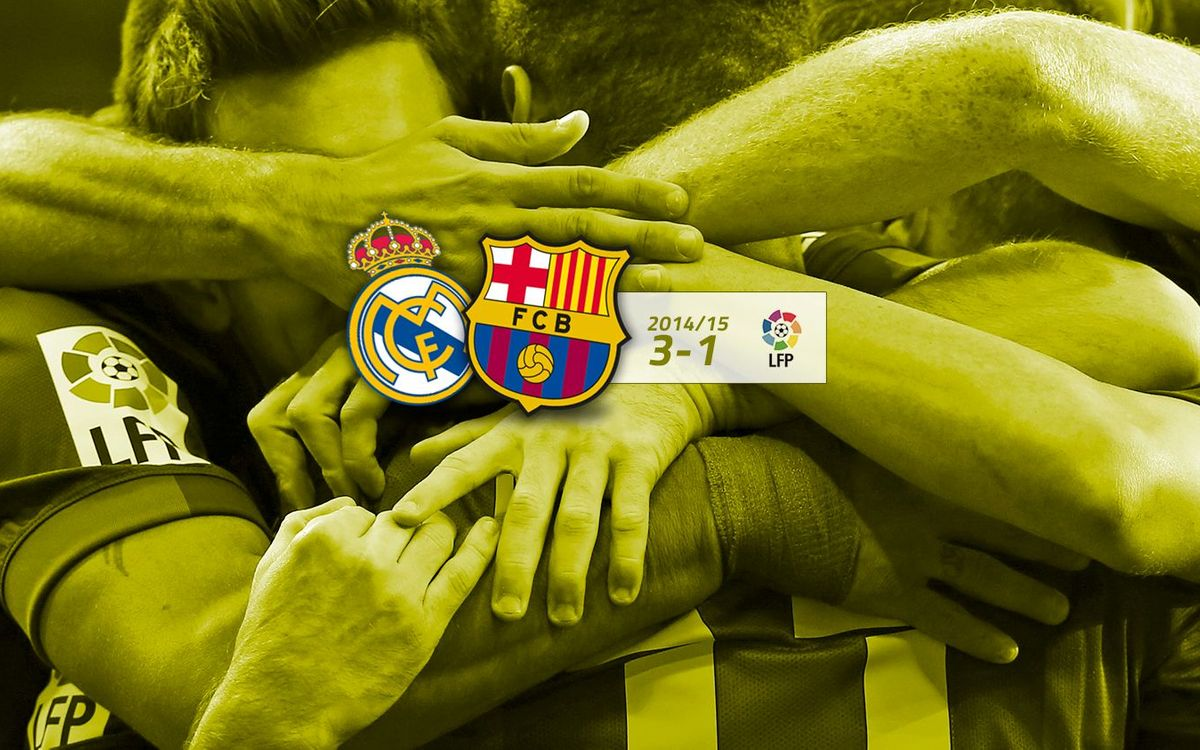 Real Madrid: 3 - FC Barcelona: 1