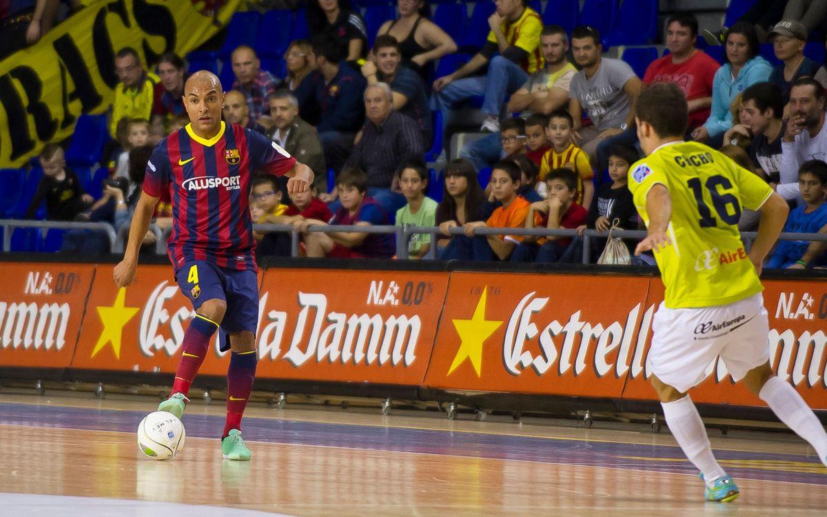 El Barça vol tornar a guanyar al Palau