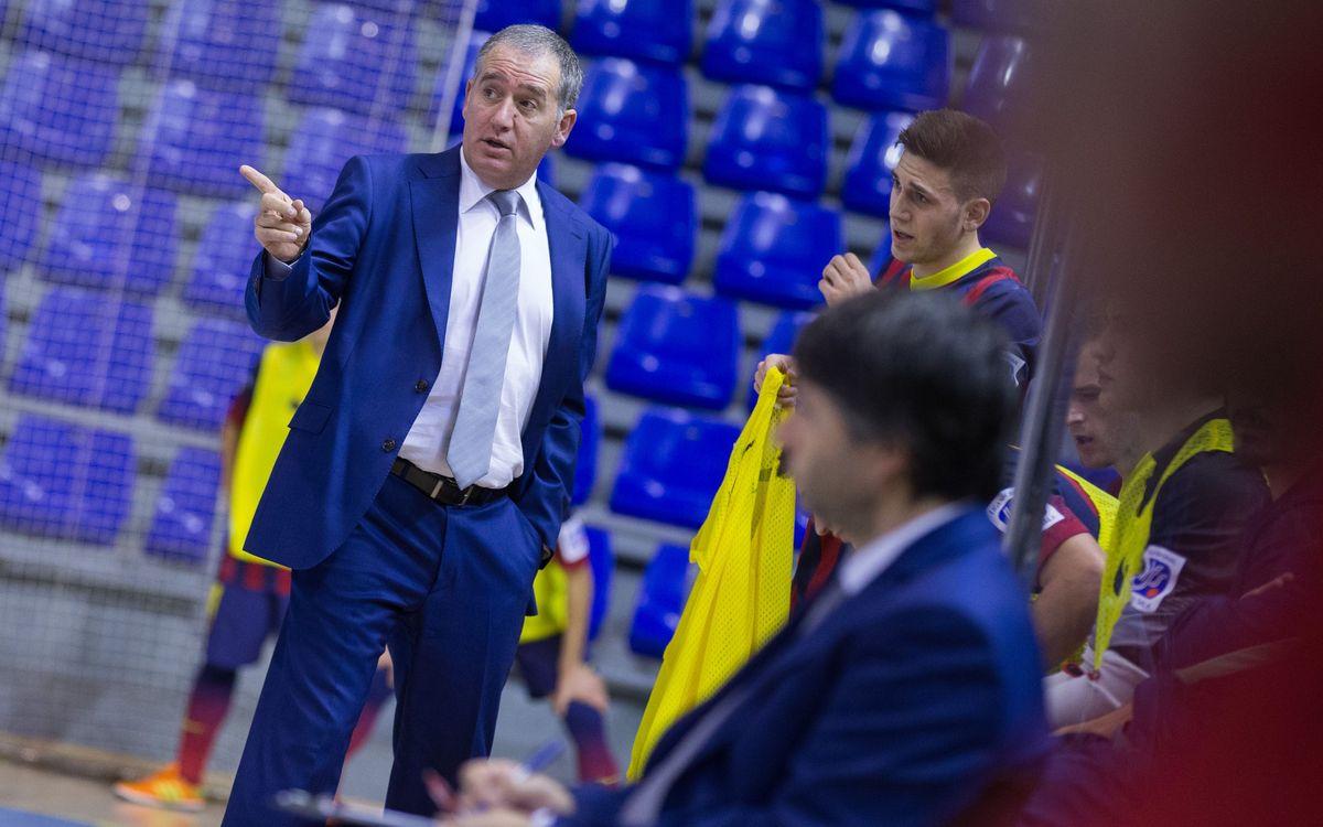 Andreu Plaza, exportant el futbol sala als Estats Units
