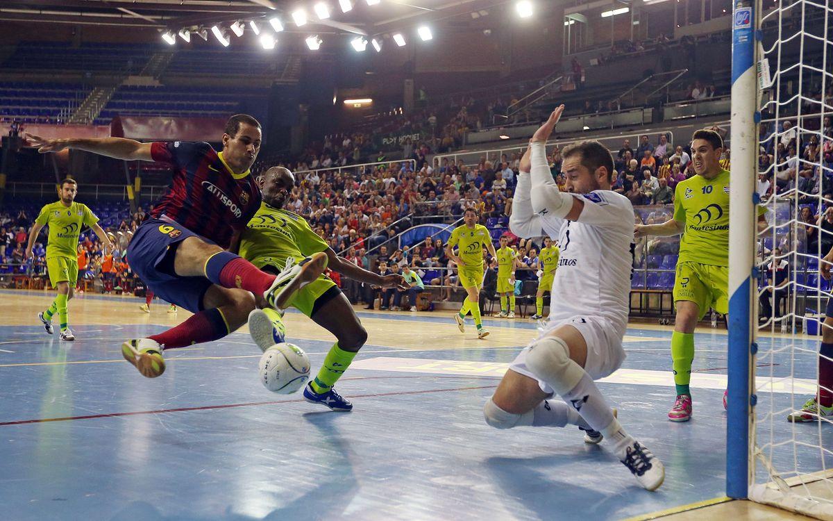 El Barça Alusport comença el play-off a Jumilla