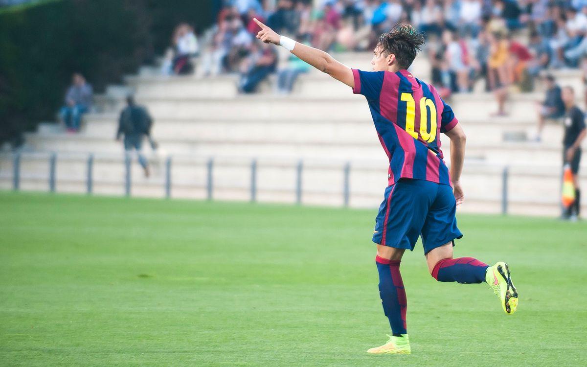 Juvenil A-RCD Espanyol: El derbi es queda a casa (1-0)