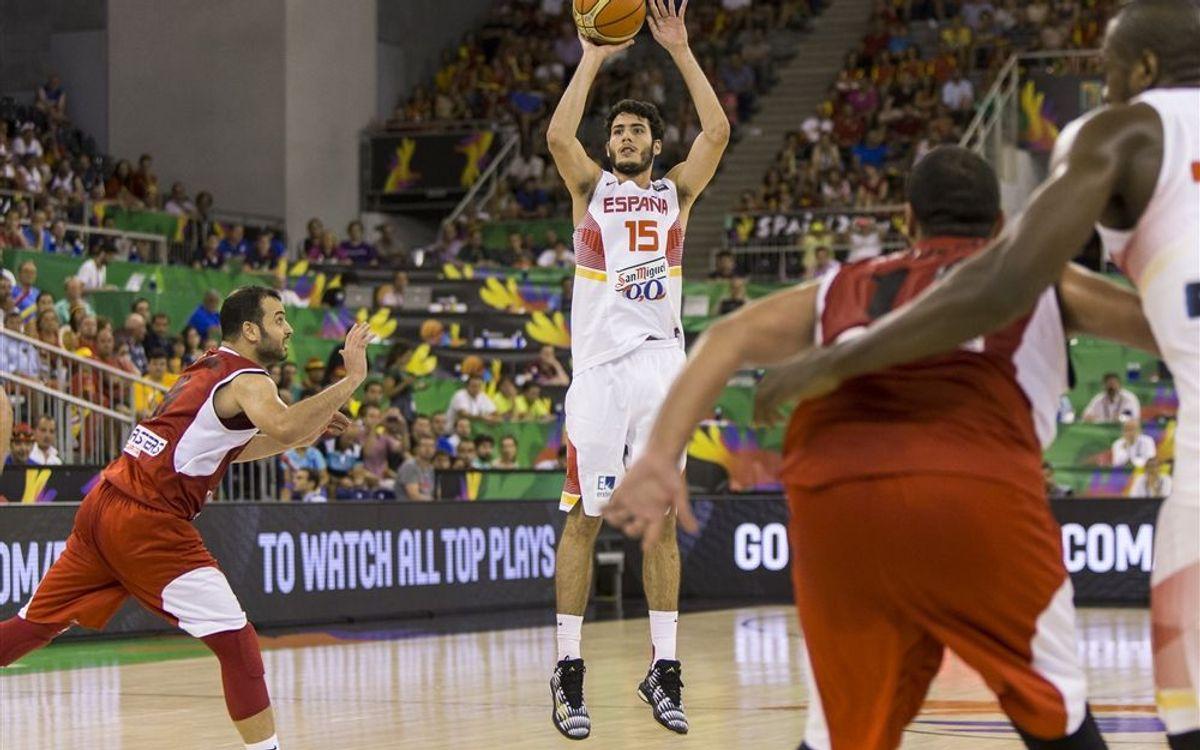España, Brasil y Croacia suman la segunda victoria en el Mundial de baloncesto 2014