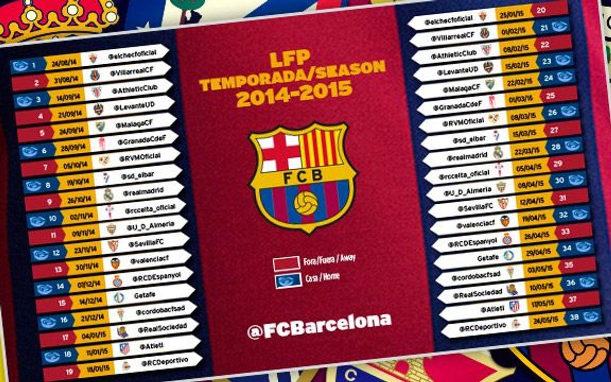 Dimarts es posen a la venda les entrades dels partits de Lliga al Camp Nou