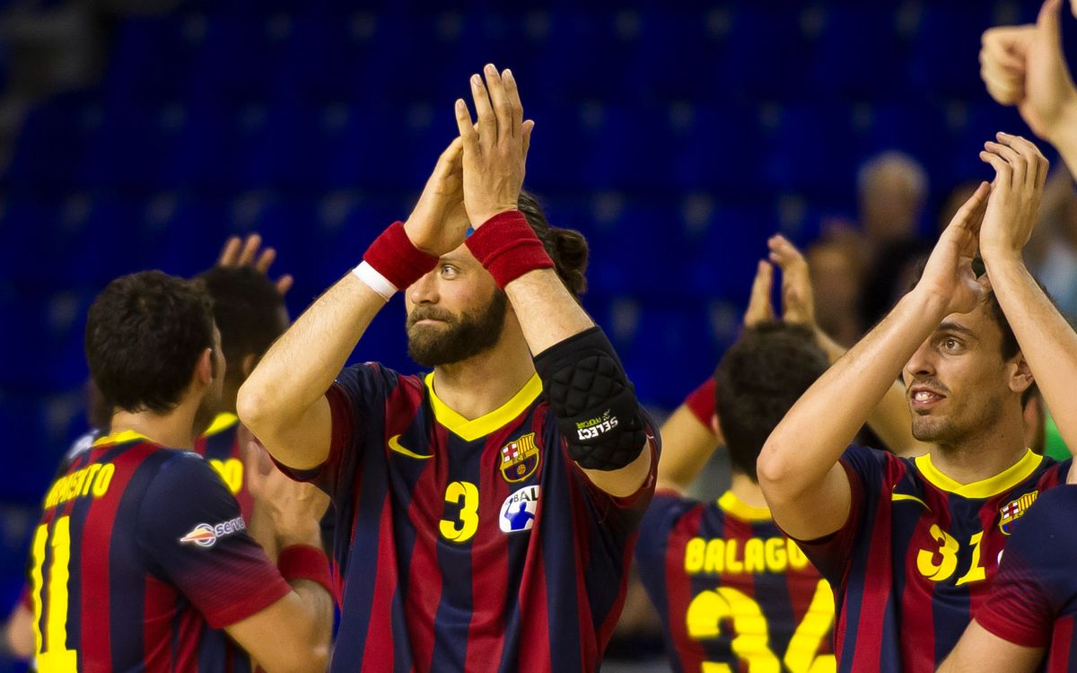 FC Barcelona - Juanfersa Grupo Fegar: Ready for the Cup challenge (38-25)