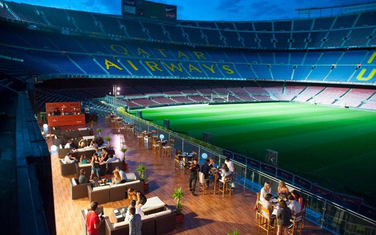 Gran acogida del Camp Nou Lounge durante las noches
