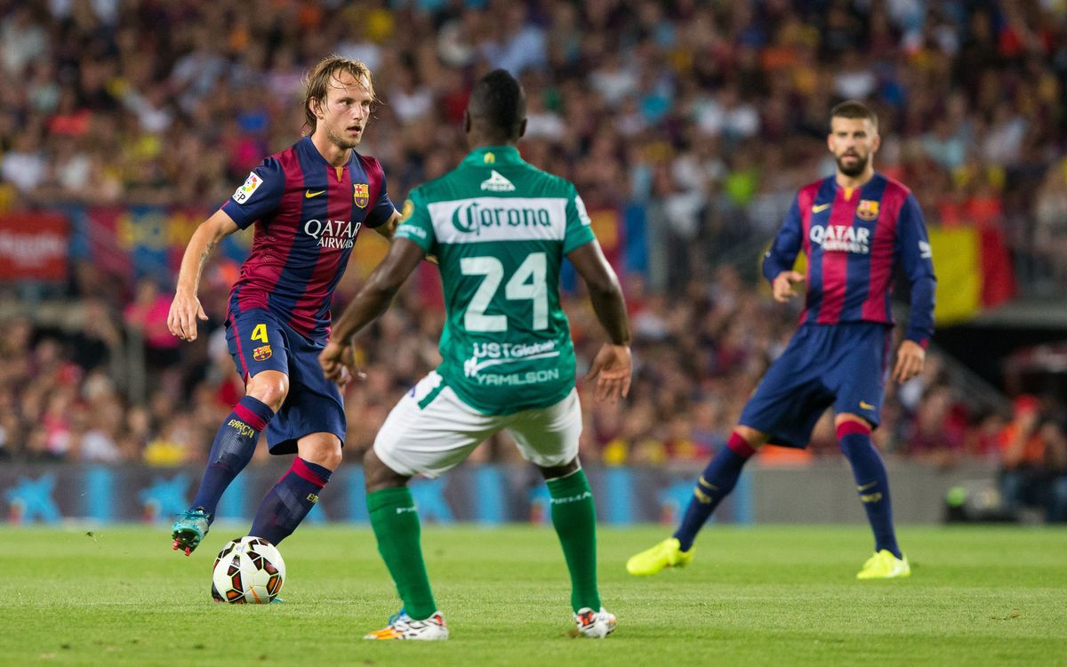 "Rakitic: ""There's the odd thing to improve but I think we played really well"""