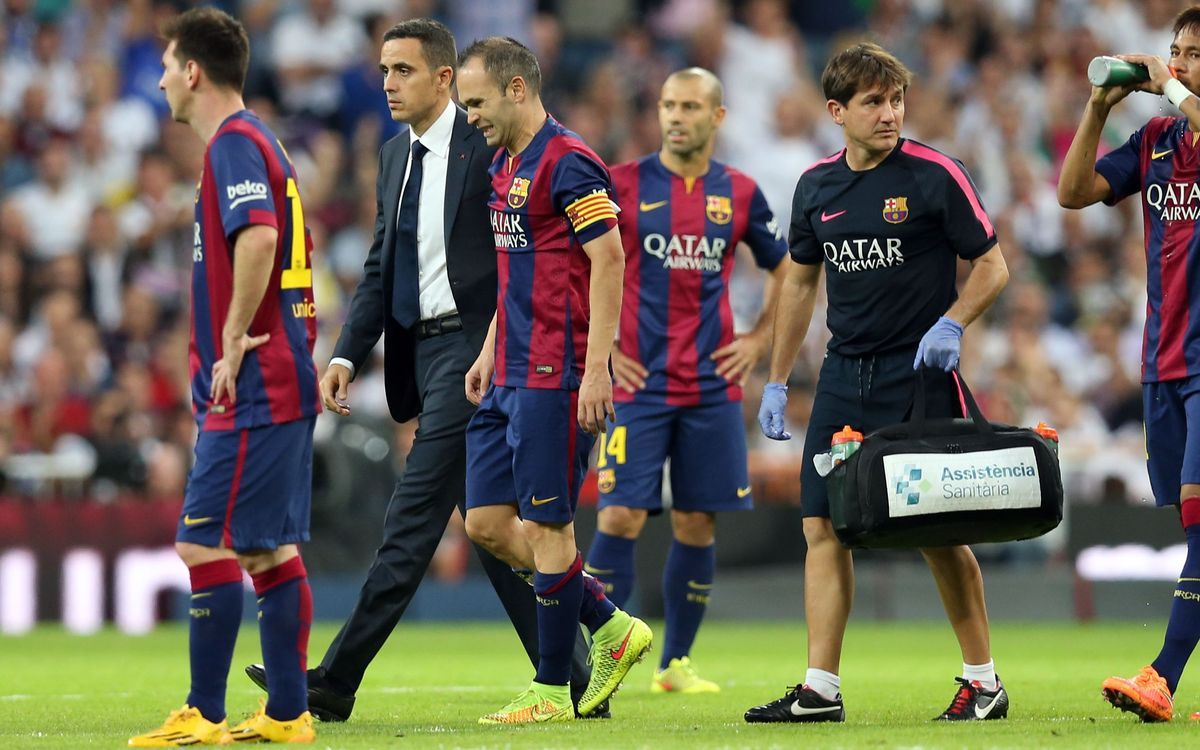 Iniesta right soleus injury confirmed
