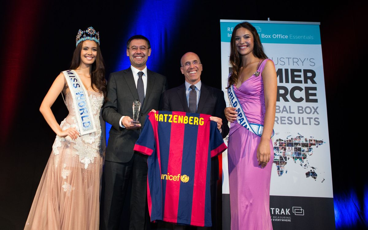 Bartomeu picks up Variety Humanitarian Award
