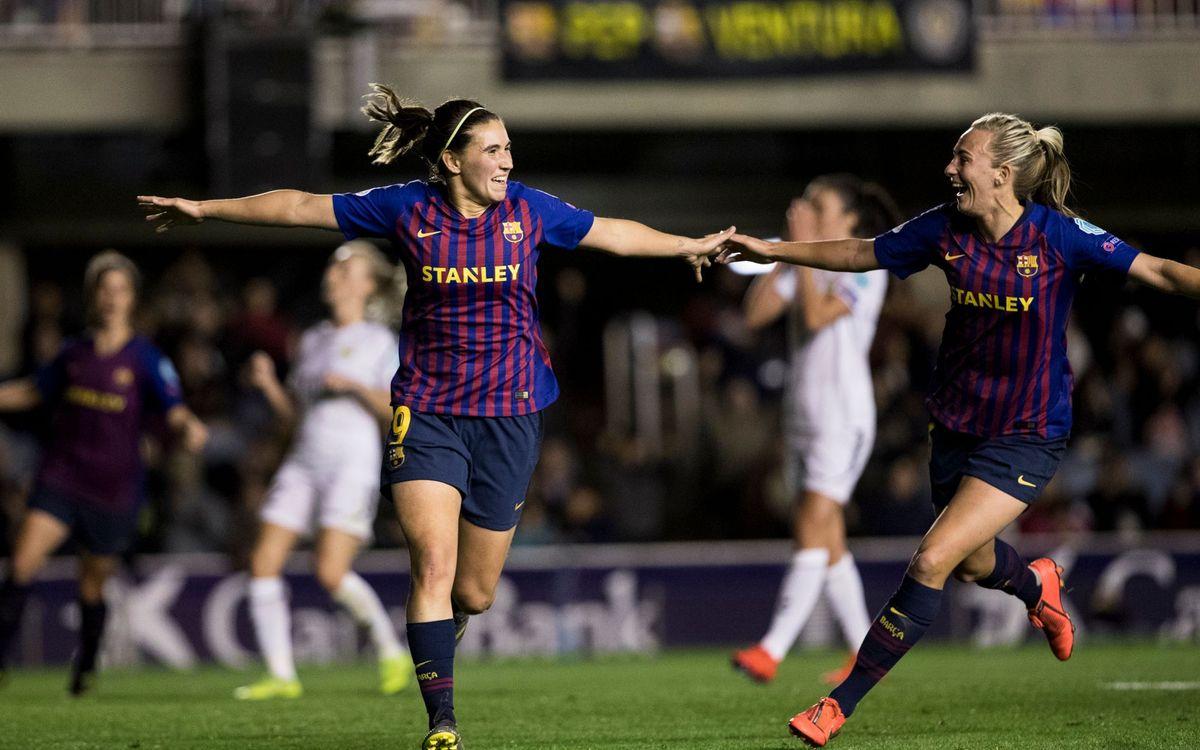LSK Kvinner - Barça Femenino (previa): Máxima ilusión continental