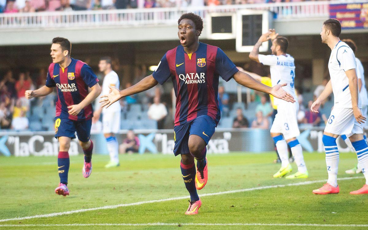 Dongou tops Second Division goalscoring
