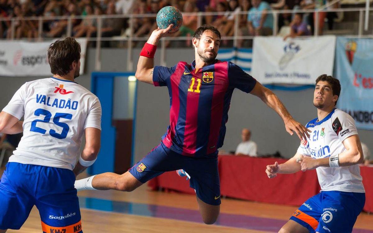 FC Barcelona-BM Granollers: Campeones de la Supercopa catalana (37-22)