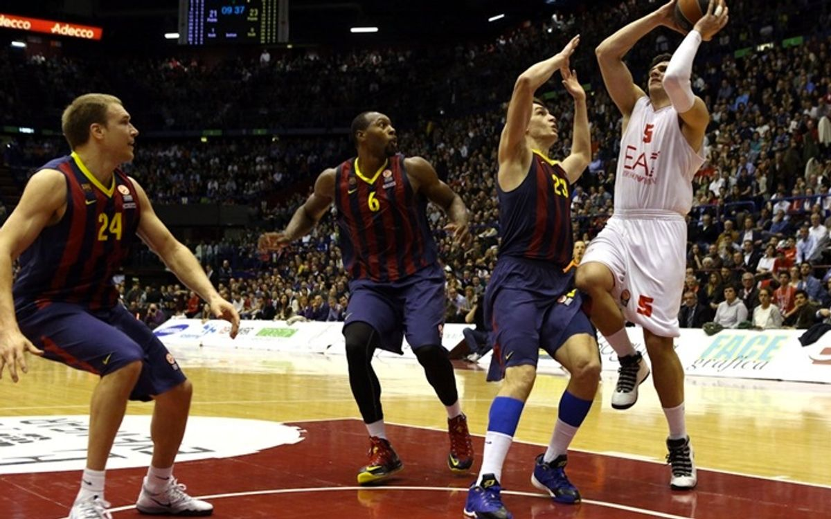 EA7 Emporio Armani – FC Barcelona: Tough but inconsequential defeat (91-63)