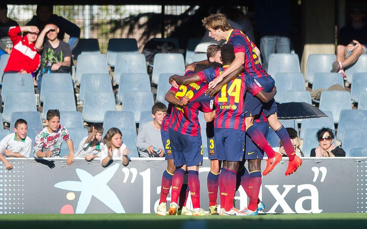 Barça B – CD Numància: Dinàmica positiva i ascendent (3-0)