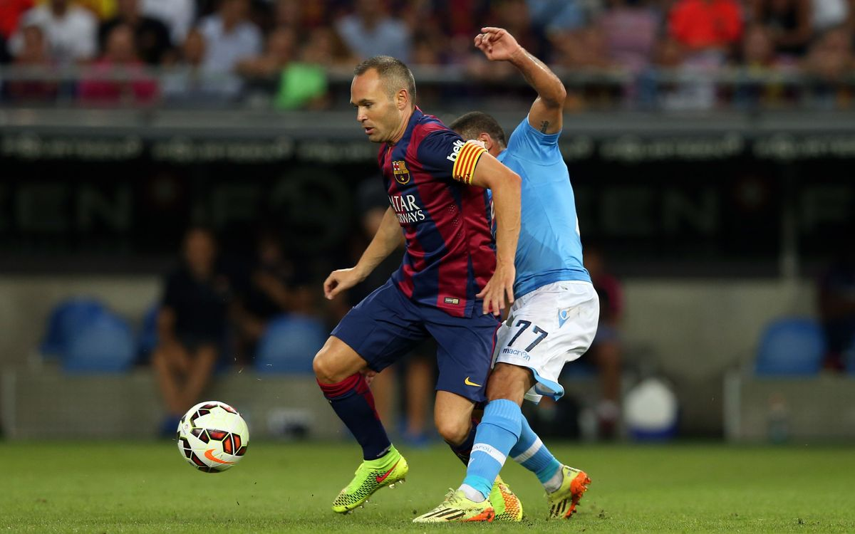 SSC Napoli v FC Barcelona match highlights