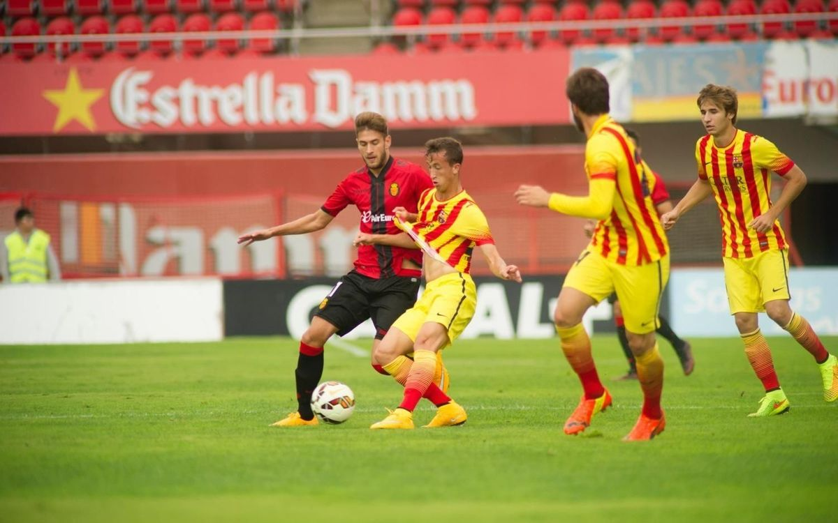 Mallorca-Barça B: A point in the rain (3-3)
