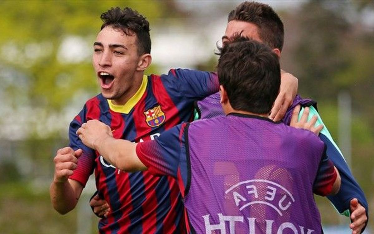 Schalke 04 U19 v FC Barcelona U19: Into the final! (0-1)