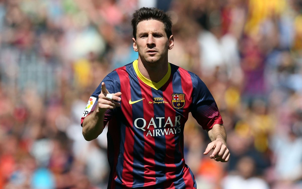 Leo Messi, vivo en la lucha por el Pichichi