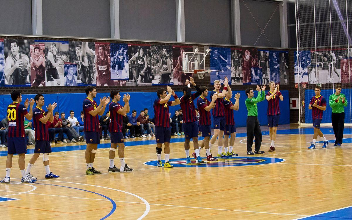 El Barça B de balonmano ya conoce su calendario