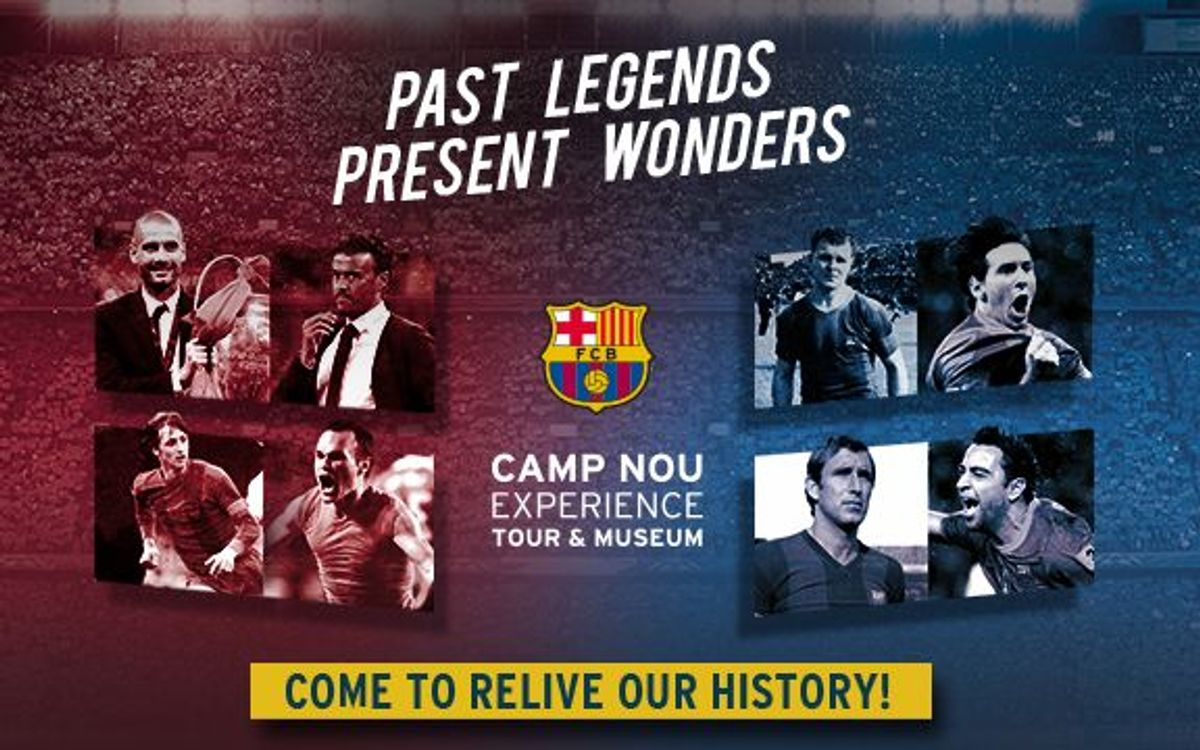 Enjoy the Camp Nou Experience this weekend