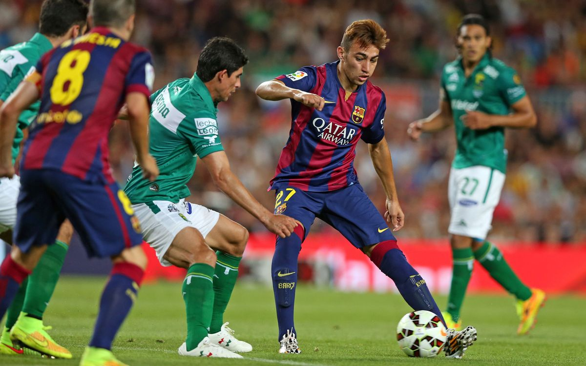 The Gamper win over Club León in stats