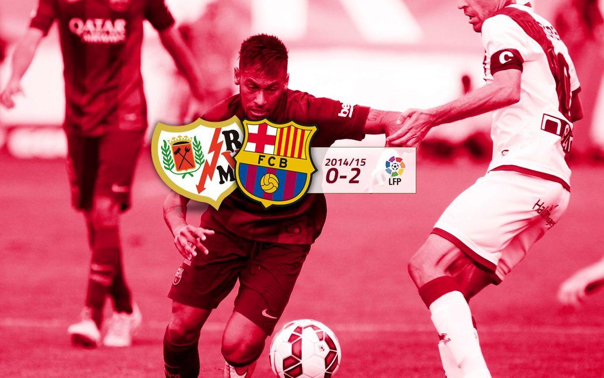 Rayo: 0 - FC Barcelona: 2