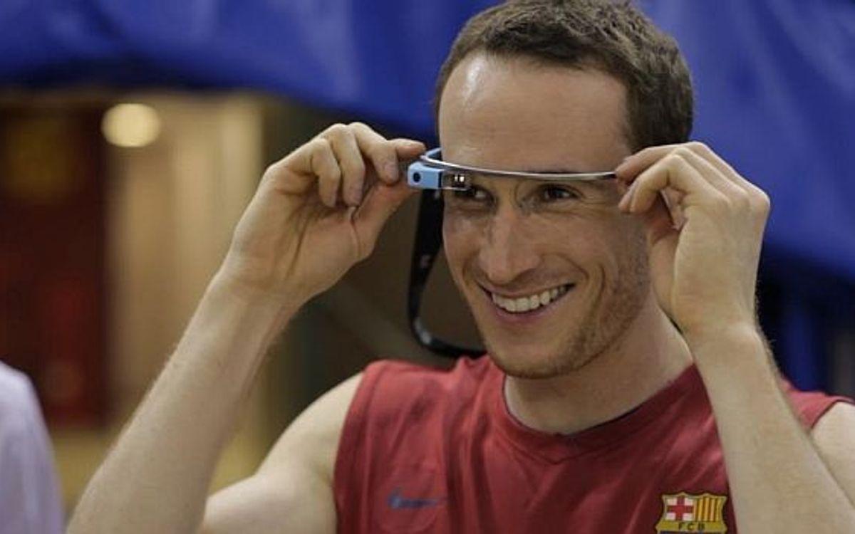FC Barcelona v Baskonia through Google Glass