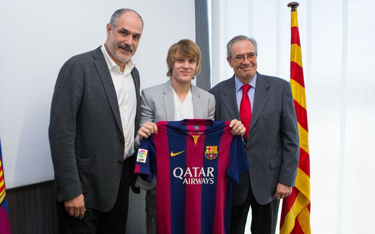Els cinc fitxatges del Barça B 2014/15