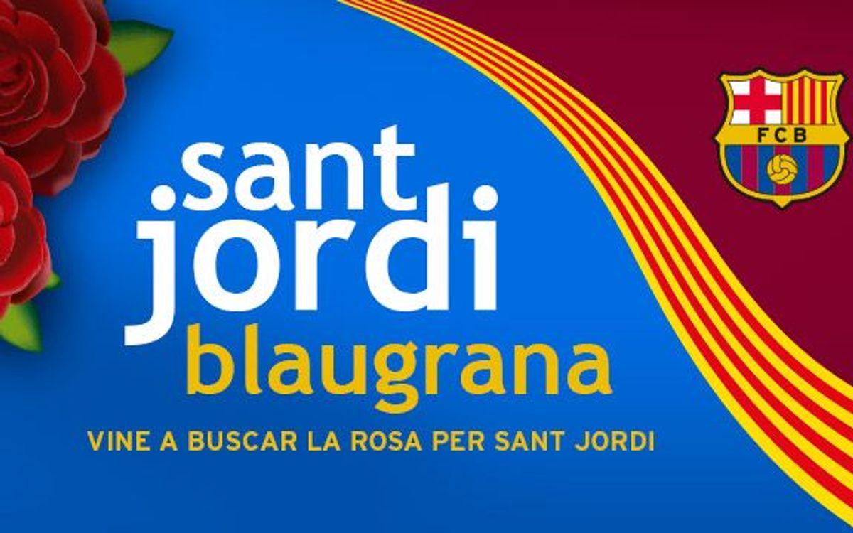 2,500 roses for Sant Jordi Day