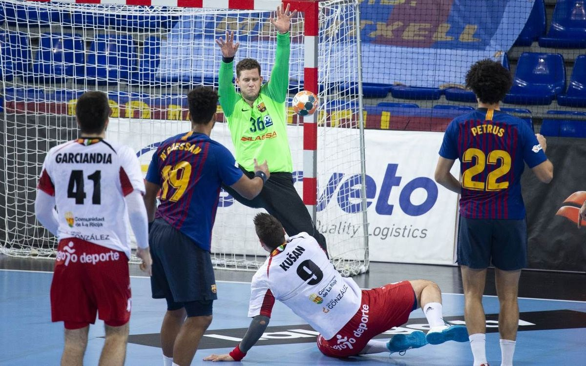 BM Logroño La Rioja – Barça Lassa: Duelo de altura antes de la Copa