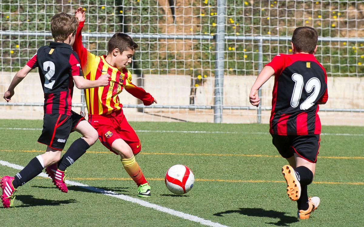 Pleno de victorias en el fútbol formativo
