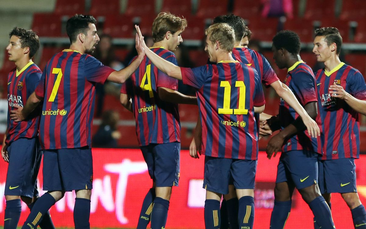 FC Barcelona - Girona: Convincing performance is rewarded with the final (3-2)