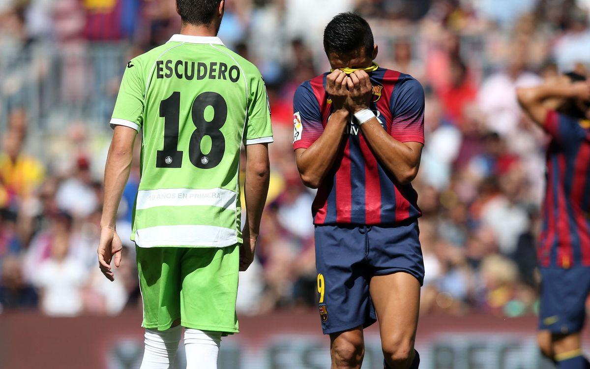 FC Barcelona – Getafe: Empat cruel (2-2)