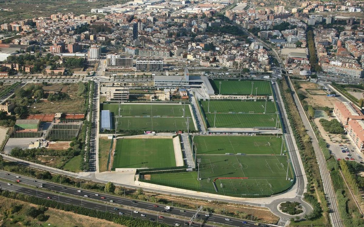 The Ciutat Esportiva from above