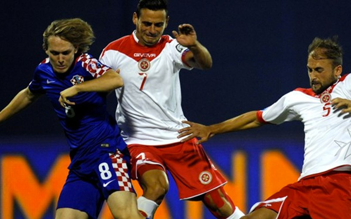 Rakitic and Halilovic help Croatia to victory against Malta (2-0)