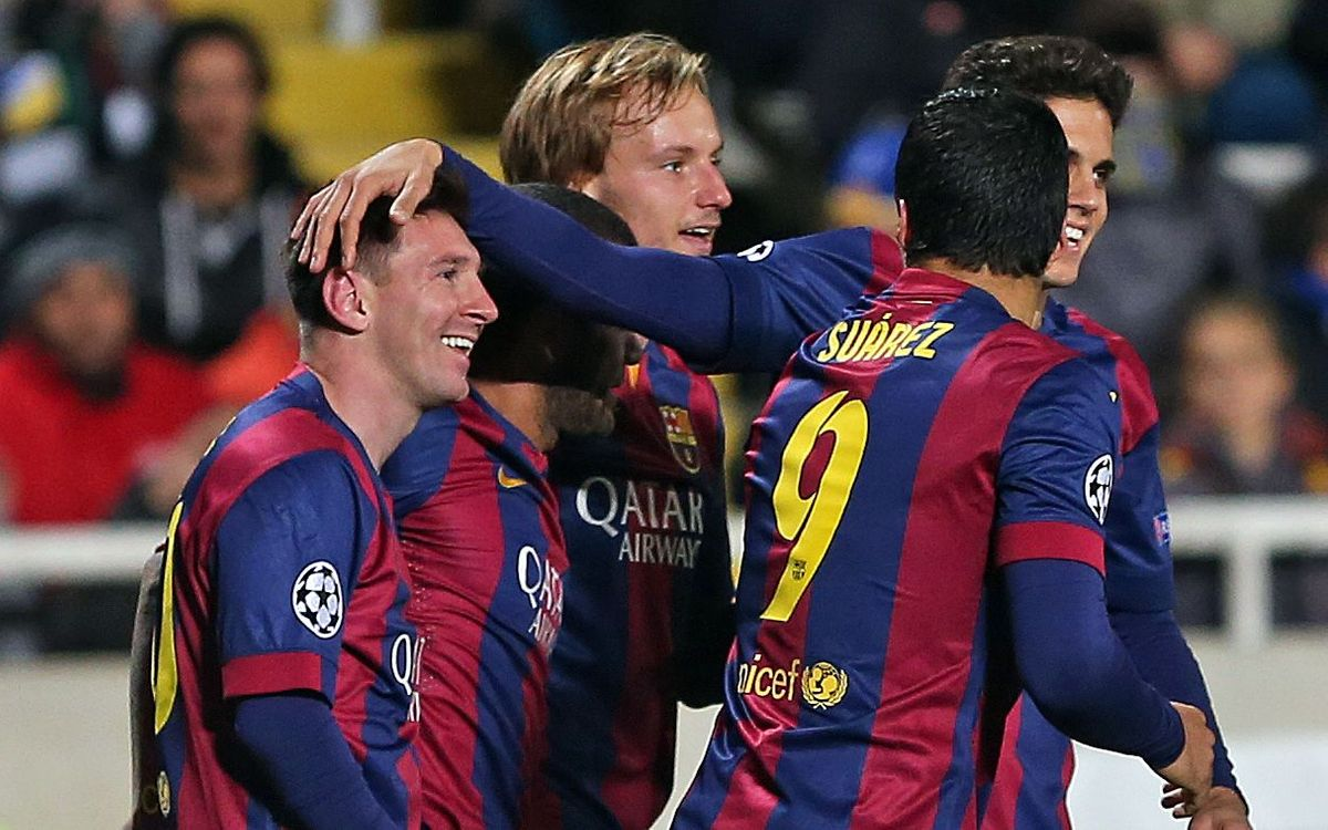 Apoel v FC Barcelona (0-4): Messi gets another record and another hat trick, Barça blank Apoel