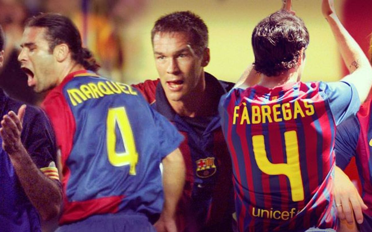 Ivan Rakitic, fifth FC Barcelona number 4