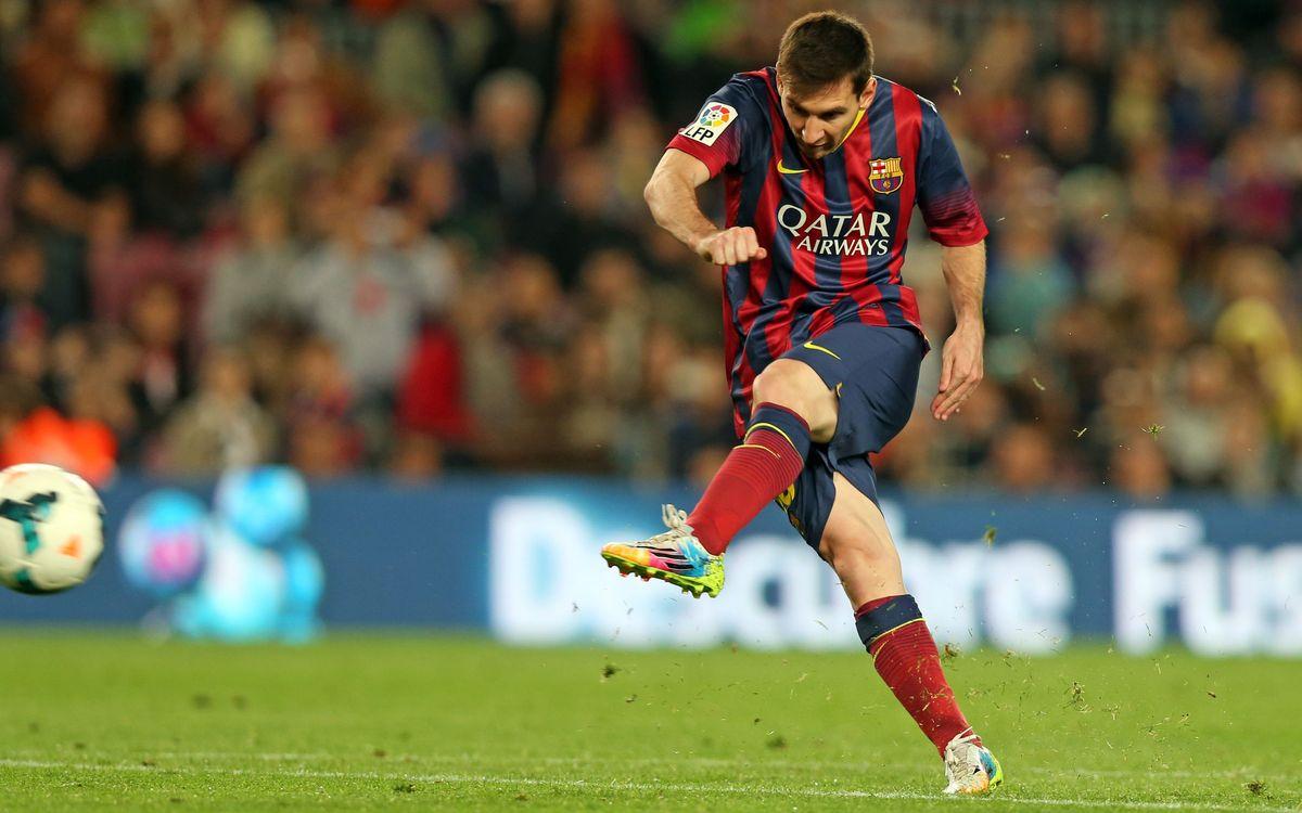 Leo Messi, a la caza del Pichichi