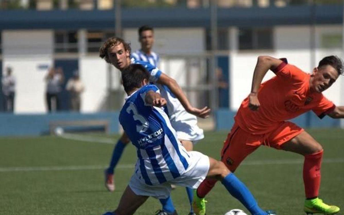 Atlètic Balears – FC Barcelona: El Juvenil A inicia la Lliga amb empat (0-0)