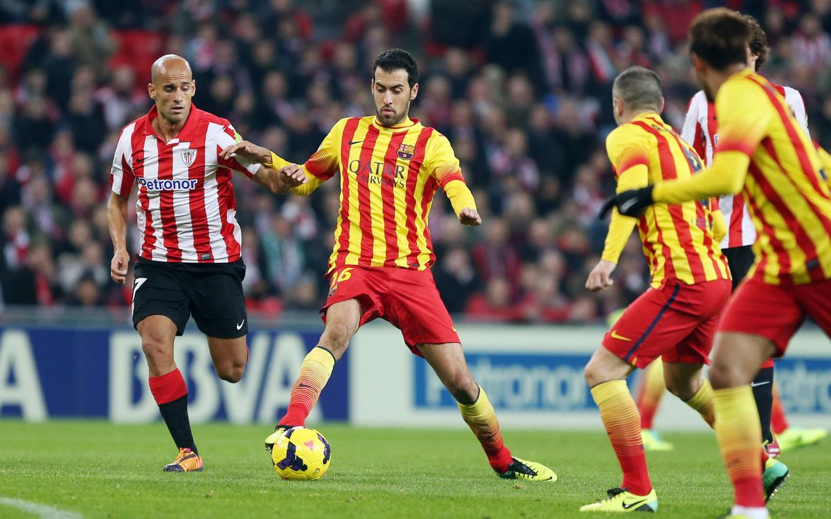 FC Barcelona v Athletic Bilbao, Sunday 20 at 9.00 PM CET