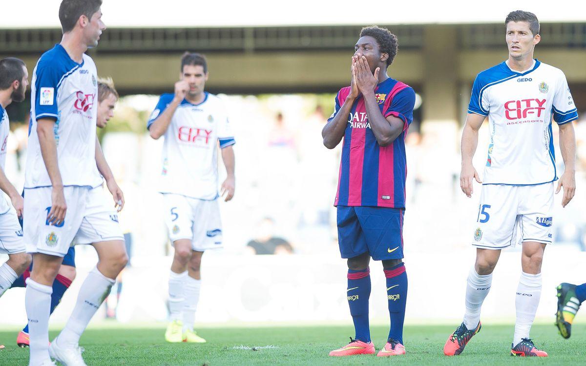 FC Barcelona B v UE Llagostera: Unrewarded effort (0-1)
