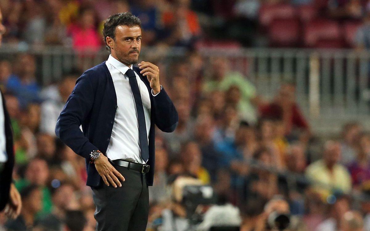 Luis Enrique, al Foro de entrenadores de la UEFA del 3 y 4 de septiembre