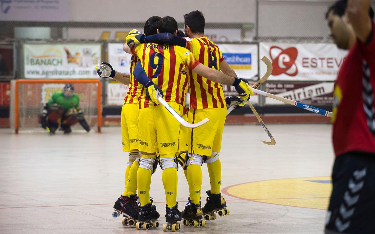 Moritz CE Vendrell v FC Barcelona: Fine start (2-9)
