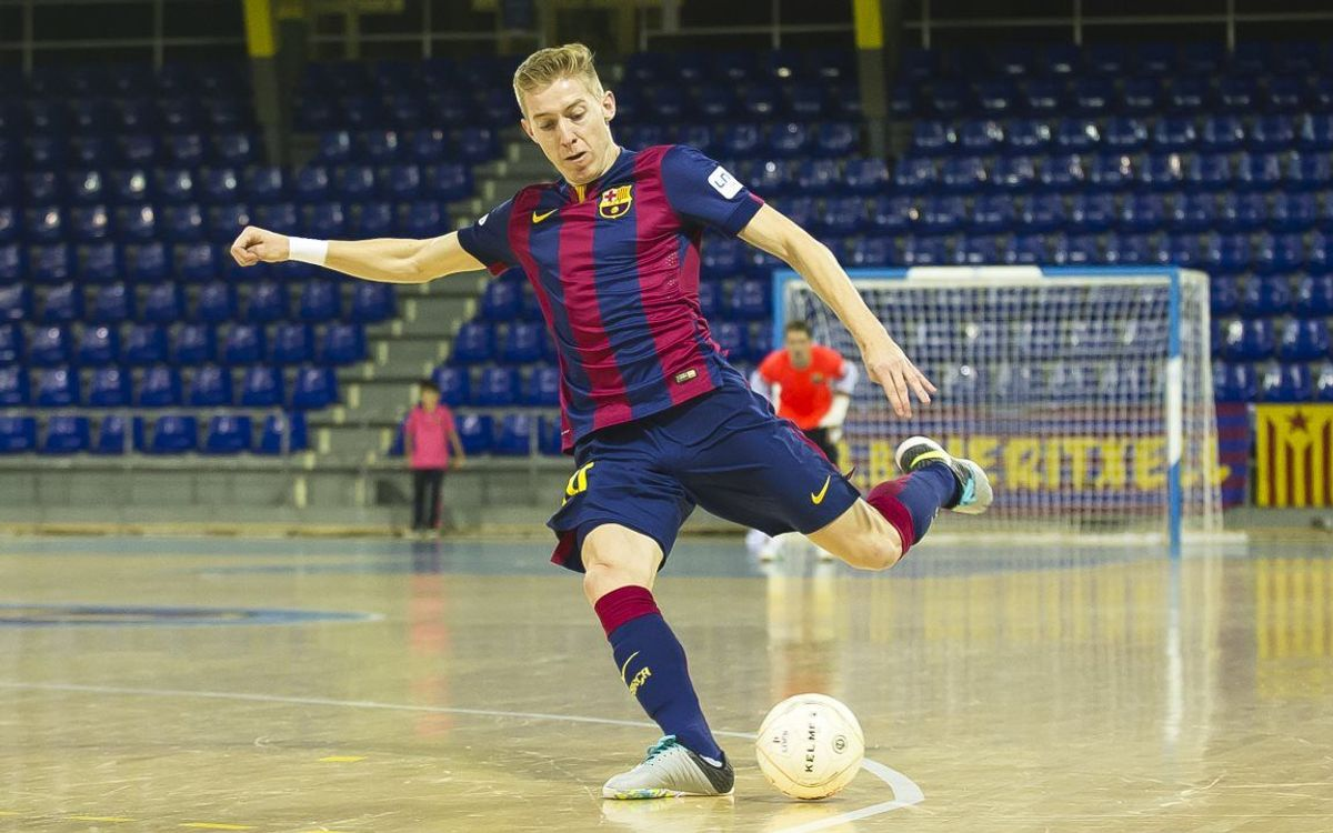 DIRECTE / FC Barcelona - MVFC Berettjóújfalu (UEFA Futsal Cup)