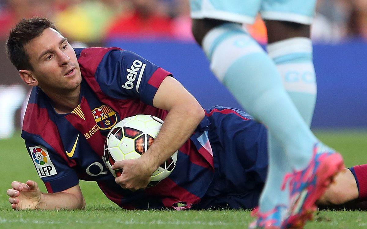 Rayo Vallecano v FC Barcelona: Battle for posssession