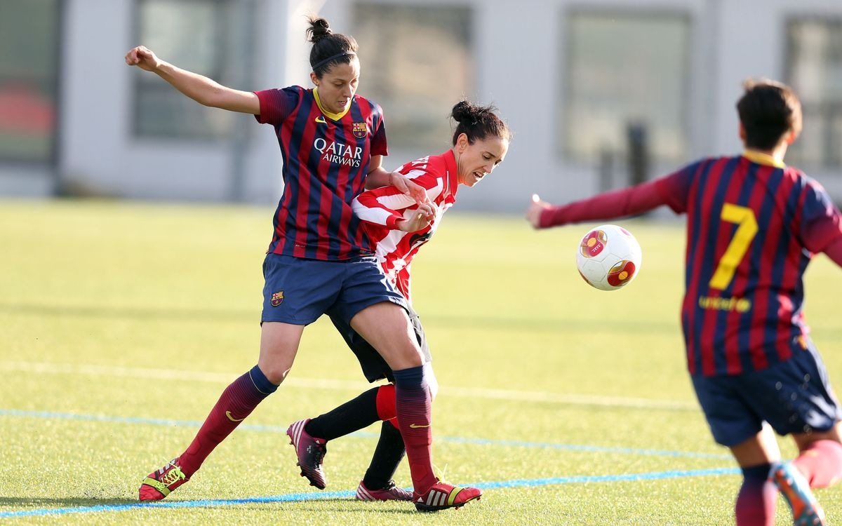FC Barcelona – Athletic Club: A un punto de ser campeonas de Liga (1-0)