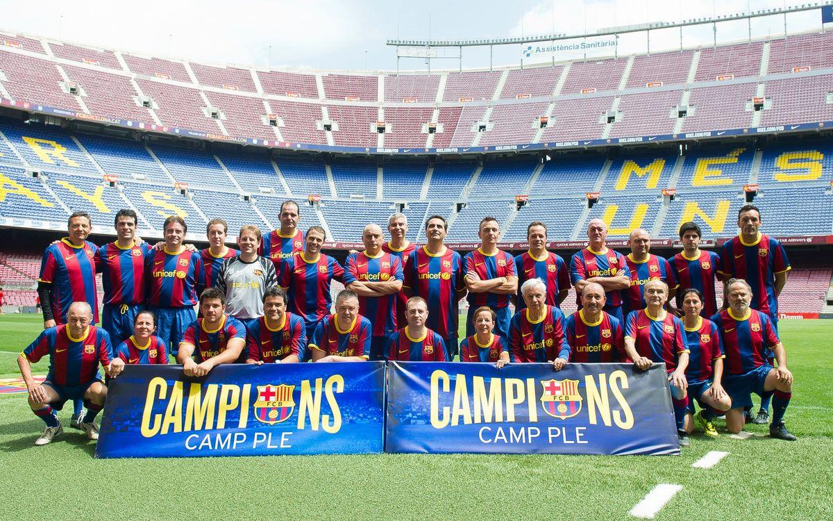 Camp Ple juega en el Camp Nou
