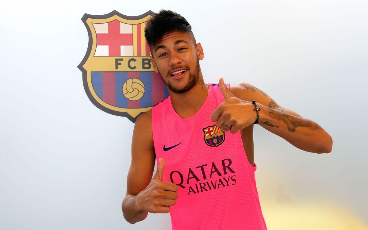 Neymar Jr, sotmès a un control d'avaluació