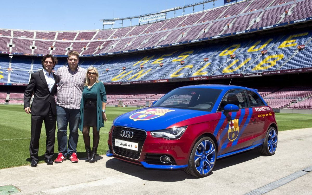 Es lliura l'Audi A1 al guanyador de l'Audi Fan Game